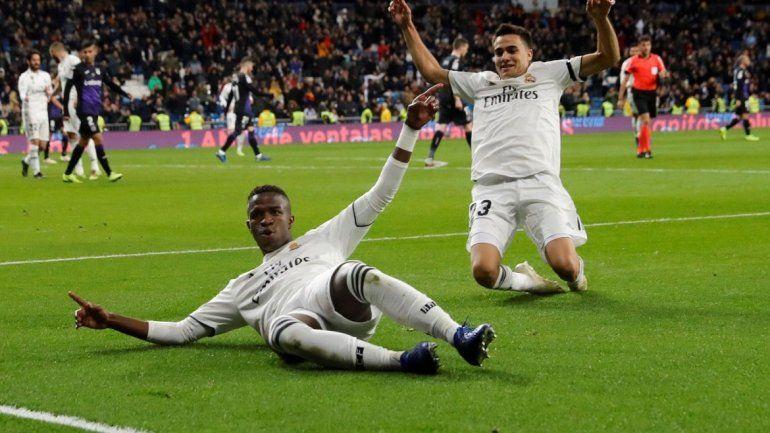 0a8940e749393 celebra tras marcar el tercer gol el 19 de enero de 2019 ante el Leganés
