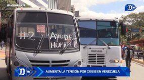 Aumenta la tensión por crisis en Venezuela