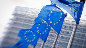 Bandera de la Unión Europea (UE).