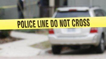 Lasunidades de la Policía acudieron al sitio del incidente.