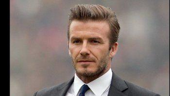 David Beckham, ex futbolista inglés.