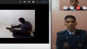 El teniente Ronald Dugarte contó en la OEA que presos políticos en la DGCIM son torturados.