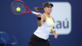 La tenista puertorriqueña Mónica Puig.