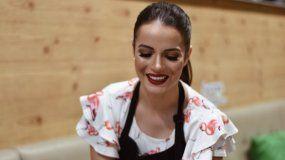 La actriz y empresaria venezolana Michelle Posada en su restaurante Michi´s, ubicado en Doral.