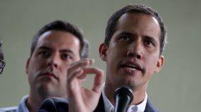 Juan Guaidó, presidente encargado de Venezuela reconocido por más de 50 países.