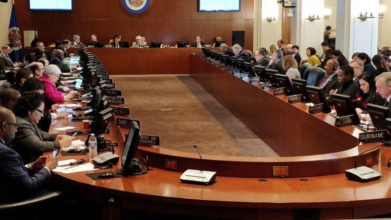 """Resultado de imagen para OEA aprueba resolución de elecciones inmediatas en Bolivia"""""""