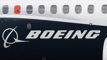 Vista del logotipo de Boeing, el mayor fabricante aeronáutico mundial.