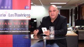 Juan Juan Almeida presenta su programa de entrevistas y debate desde la redacción de DIARIO LAS AMÉRICAS.