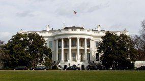 Fotografía fechada el 15 de marzo de 2019 en la que se observa el jardin sur de la Casa Blanca.