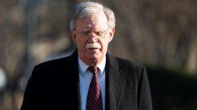 El Asesor de Seguridad de la Casa Blanca, John Bolton