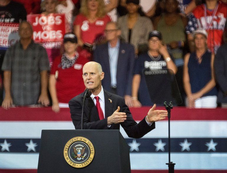 A pesar de que hay más votantes registrados demócratas que republicanos dentro de la población hispana en Florida
