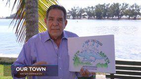 El comisionado Xavier Suárez habla sobre el incremento del nivel del mar en Miami.