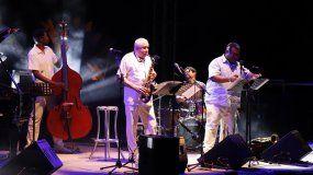 El saxofonista cubano Paquito D Rivera durante un concierto en España.