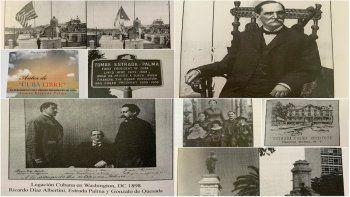 Imágenes del libro de Margarita García sobre Tomas Estrada Palma.
