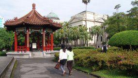 Vista parcial de Taipei, capital de Taiwán.