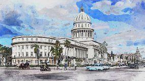 ElCapitolio Nacional, La Habana.