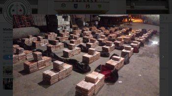 Unidades del @SENANPanama ubican 46 maletines con 1,517 paquetes de droga en el Puerto de Cristóbal, provincia de Colón, en una embarcación procedente de Cuba con destino final a Turquía, publicó la cuenta de Twitter de @minsegpanama.