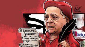 En una carta asfixiada de cursilería y narcisismo, el otrora poderoso fiscal general de Venezuela Isaías Rodríguez le anunció al dictador Nicolás Maduro y al mundo su renuncia al cargo de embajador en Roma.