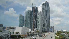 Vista del centro de Miami.