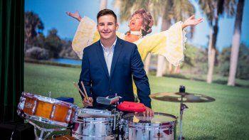 El joven estudiante de percusiónDavid Carmona.