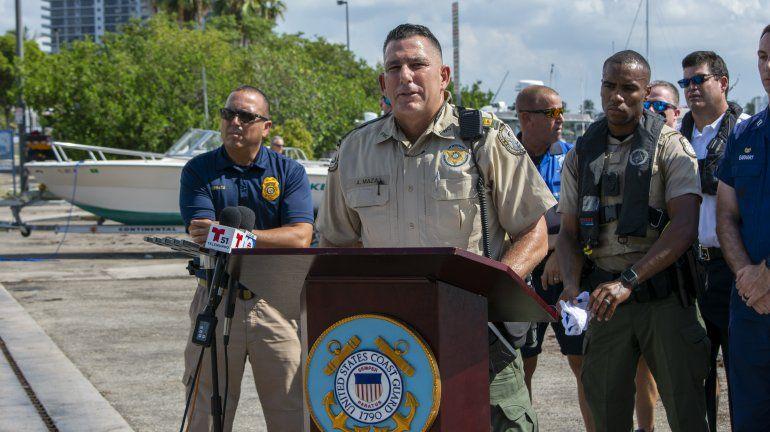 Alberto Maza, capitán de la Comisión de Preservación de Pesca y la Vida Silvestre en Florida