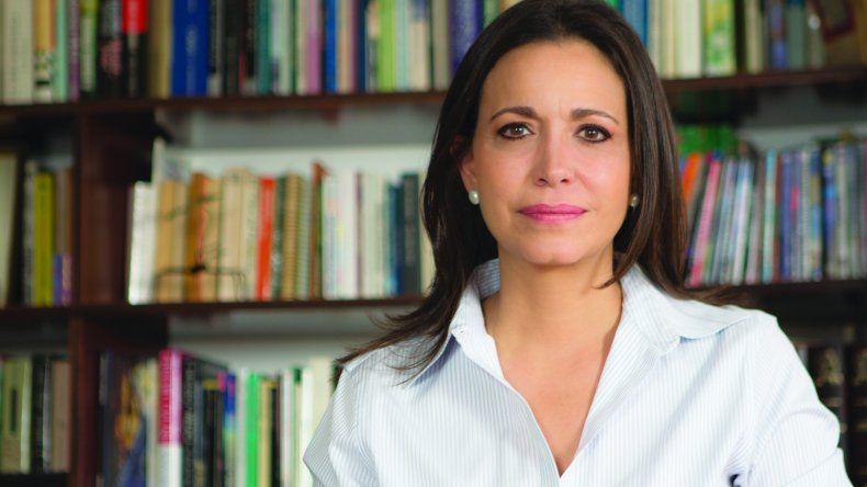 Maria Corina Machado, dirigente opositora y coordinadora de Vente Venezuela.