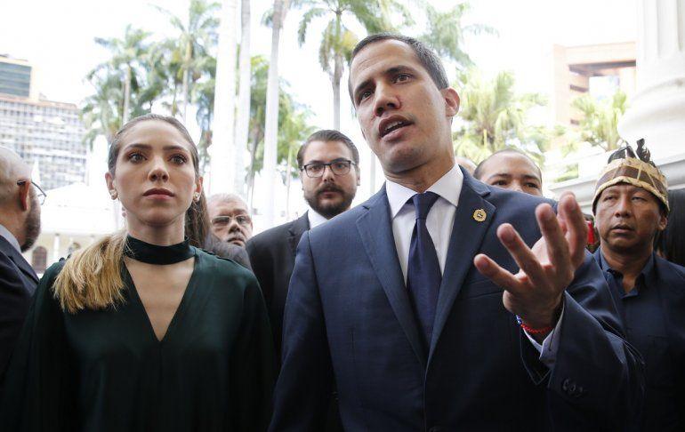 El presidente encargado de Venezuela