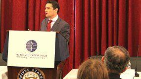 El embajador de Venezuela ante EEUU, Carlos Vecchio.