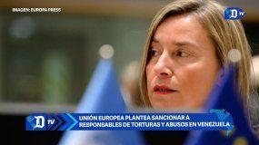 Unión Europea plantea sancionar a responsables de torturas en Venezuela