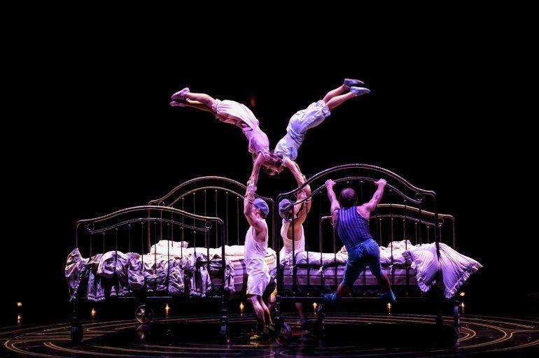 Uno de los actos de <i>Corteo</i>, el nuevo espectáculo que Cirque du Soleil llevará al BB&T Center, en Broward, del 24 de julio al 4 de agosto.