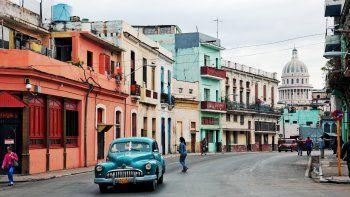 Una calle de La Habana, Cuba.