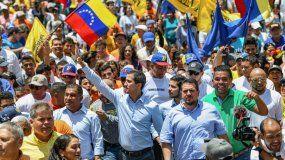 El presidente encargado, Juan Guaidó, realizó un recorrido por la isla de Margarita.