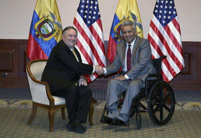 El secretario de Estado estadounidense Mike Pompeo