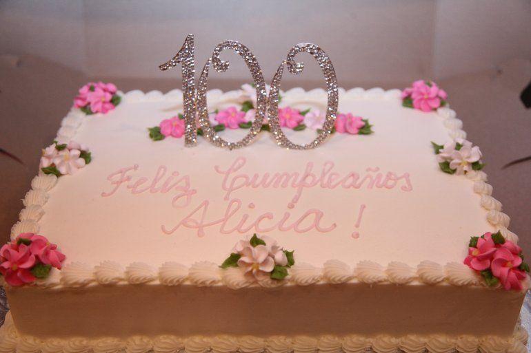 Alicia Cumplió 100 Años Miami