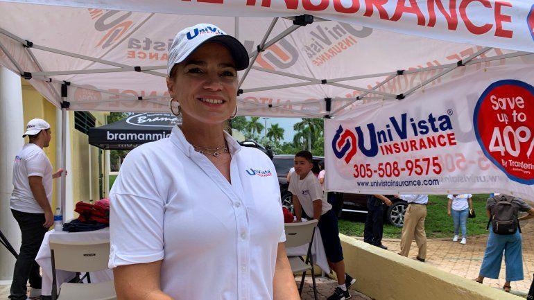 Ania Herrrera, presidenta de Univista Insurance.