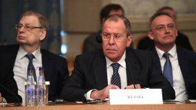 Sergei Lavrov, ministro de Exteriores de Rusia.