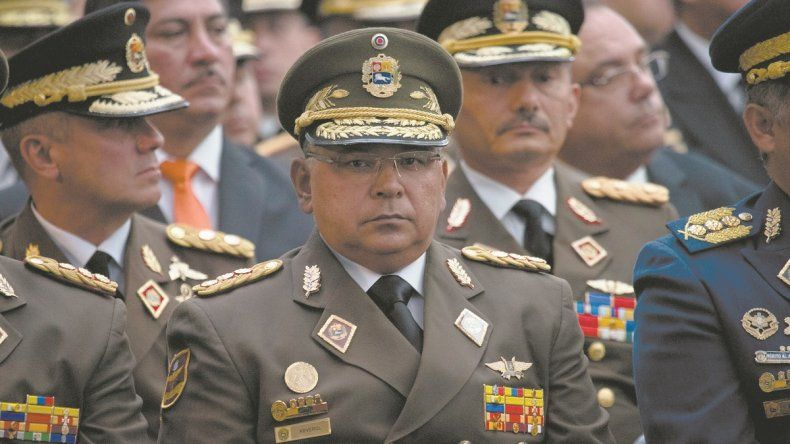 General Néstor Reverol,ministro del Interior y Justiciadel régimen de Nicolás Maduro en Venezuela.