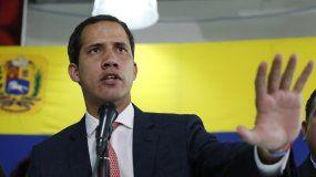 Juan Guaidó, presidente en cargado de Venezuela.