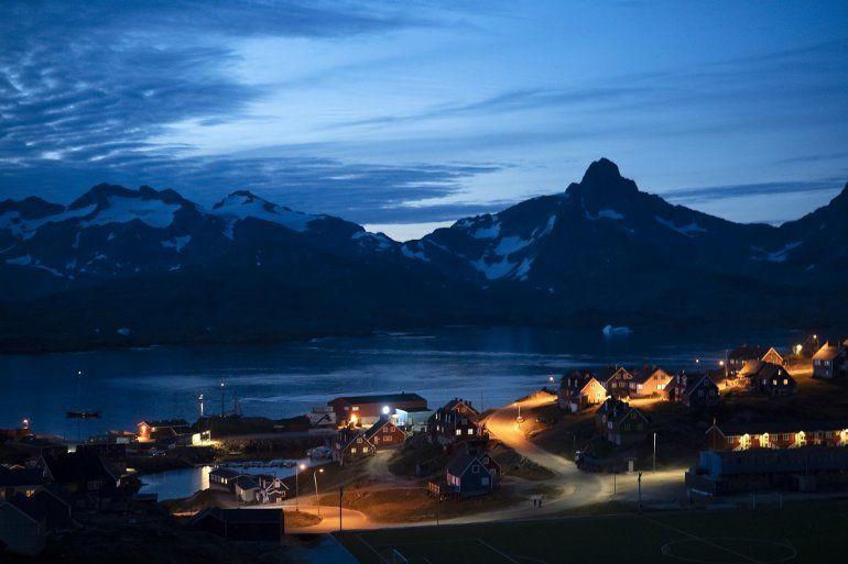 Foto de Tasiilaq, en Groenlandia, el 16 de agosto del 2019.