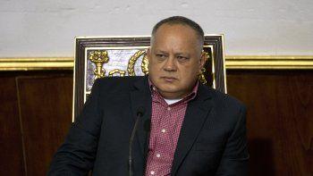 Diosdado Cabello,presidente de la ilegítima Asamblea Constituyente deVenezuela.