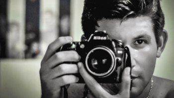 Autorretrato del periodista independiente cubano Yariel Valdés.