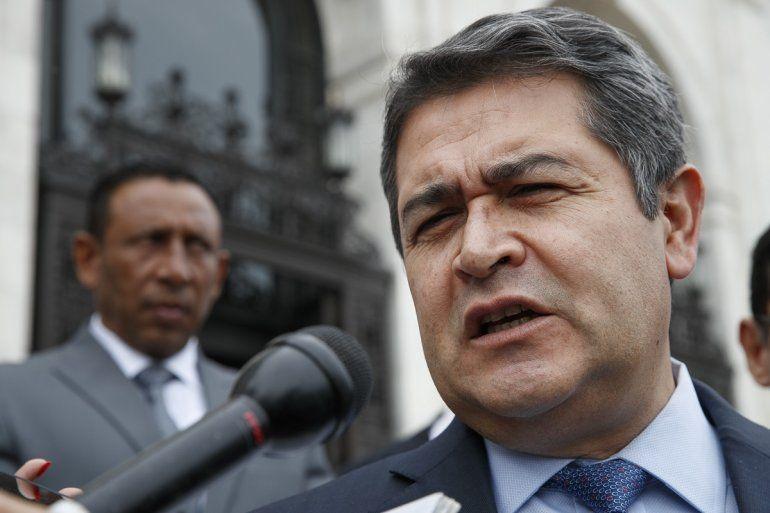 El hermano y el primo del presidente hondureño