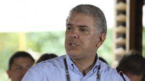 El presidente colombiano,Iván Duque, durante un acto el pasado 6 de septiembre.