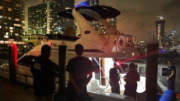 La Guardida Costera abordó una nave que operaba ilegalmente en el Miami.