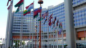 Edificio de la Asamblea General de Naciones Unidas.