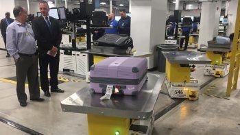 El Aeropuerto Internacional de Miami estrena un nuevo sistema de manejo de equipaje.