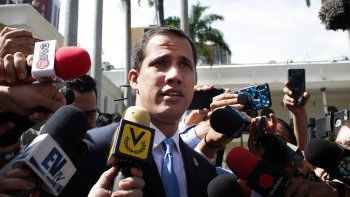 Fotografía del 17 de septiembre de 2019 de Juan Guaidó, presidente encargado de Venezuela.