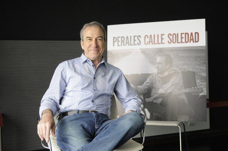 El cantante José Luis Perales.
