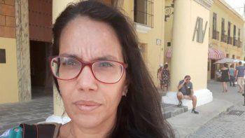 La periodista independiente en Cuba, Luz Escobar.