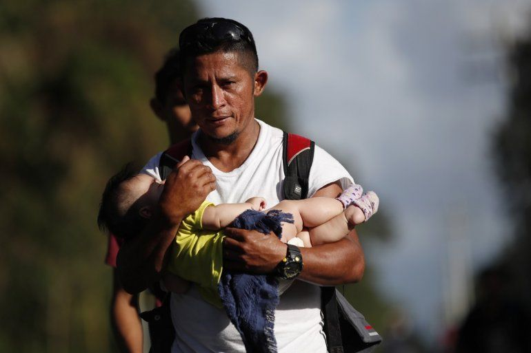 Resultado de imagen para Migrantes rumbo a EEUU llegan a Guatemala enfrentan nuevos retos y dificultades